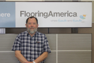 Clayton Pippin Commercial Specialist for Carol's Carpet Flooring America